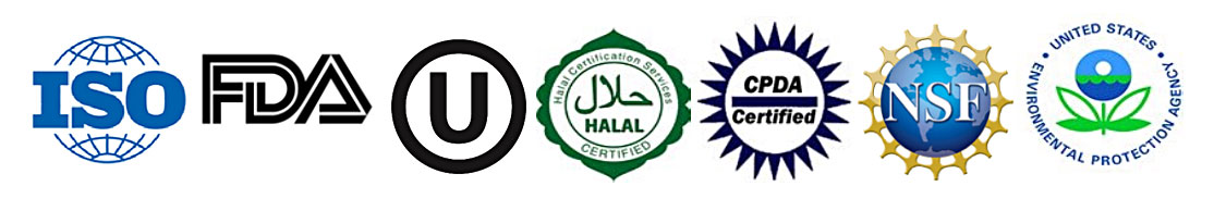 Manufacturers Certifications
